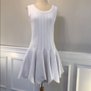 $475 NWT Jonathan Simkhai White Pointelle Dress